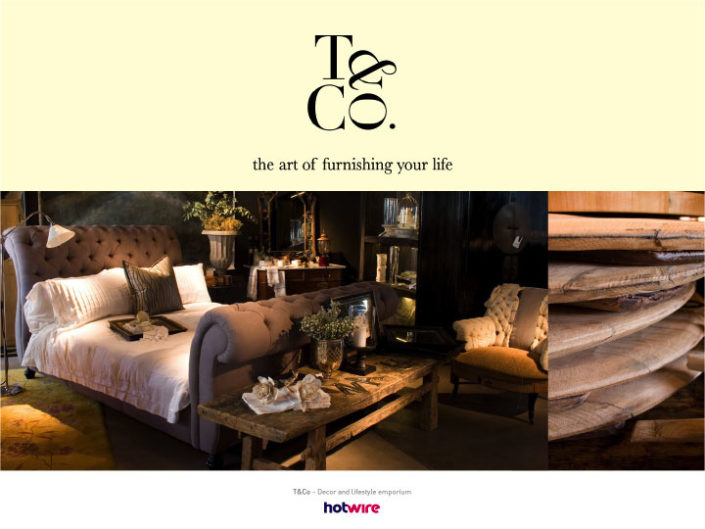 T&Co - Decor & Lifestyle Emporium | hotwire Marketing